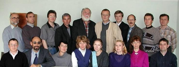 коллектив лаборатории